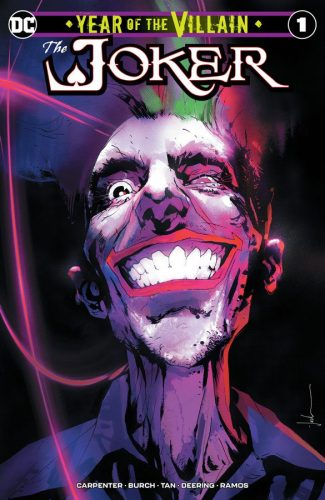 JOKER YEAR OF THE VILLAIN (JOCK Jetpack Comics / Forbidden Planet EXCLUSIVE)