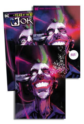 JOKER YEAR OF THE VILLAIN (JOCK Jetpack Comics / Forbidden Planet EXCLUSIVE 3-Pack)