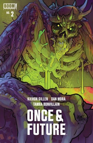 ONCE & FUTURE #2 (LAFUENTE JETPACK COMICS / FORBIDDEN PLANET EXCLUSIVE)