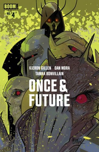 ONCE & FUTURE #4 (Lafuente Jetpack Comics Exclusive)