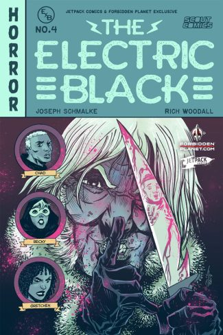 ELECTRIC BLACK #4 (Rich Woodall Jetpack Comics Exclusive)