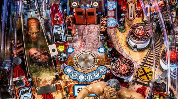 WE'VE GOT OUR WALKING DEAD PINBALL MACHINE TUNED UP & READY TO GO