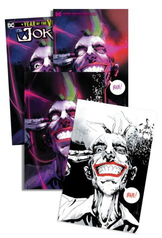 JOKER YEAR OF THE VILLAIN (JOCK JETPACK COMICS EXCLUSIVE 4-Pack)