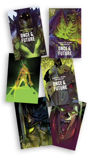 ONCE & FUTURE #1-#6 (Lafuente Jetpack Comics Exclusives)