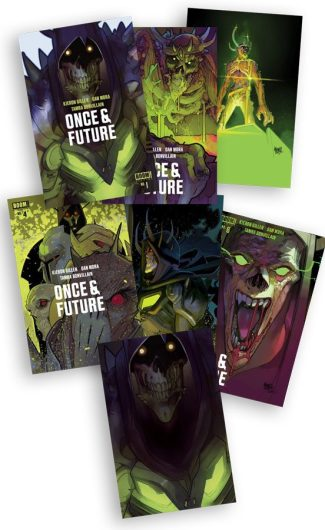 ONCE & FUTURE #1-#6 + #1 Glow In The Dark Exclusive (Lafuente Jetpack Comics Exclusives)