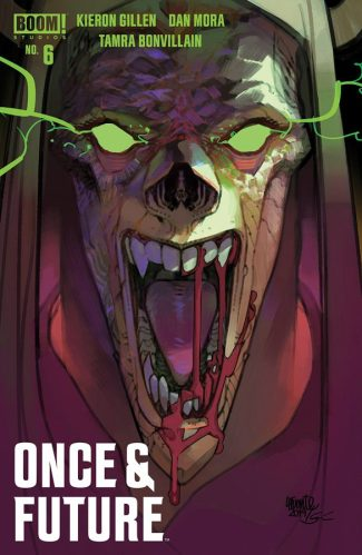 ONCE & FUTURE #6 (Lafuente Jetpack Comics Exclusive)