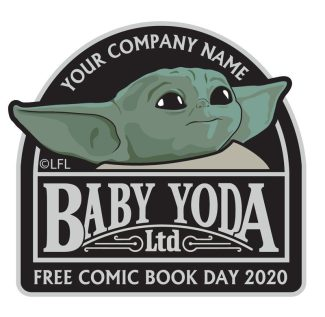 The Child / Baby Yoda FCBD Patch