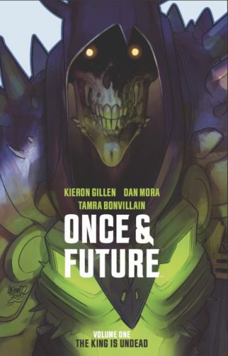 ONCE & FUTURE VOL 1 (EXCLUSIVE SIGNED MINI-PRINT EDITION – VG +- Quality)