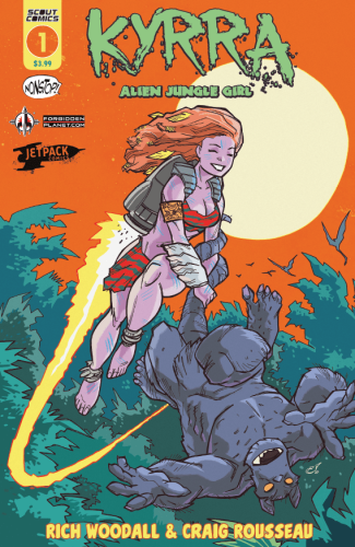 KYRRA: Alien Jungle Girl #1 (Exclusive)