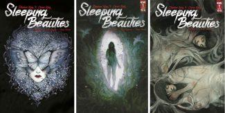 STEPHEN & OWEN KING's SLEEPING BEAUTIES #1 3-pack (Peach Momoko Jetpack Exclusive, Limited 1/10 Variant & Limited 1/25 Variant)