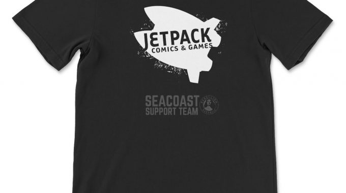 Rock This Jetpack Tee From Seacoast Support Team