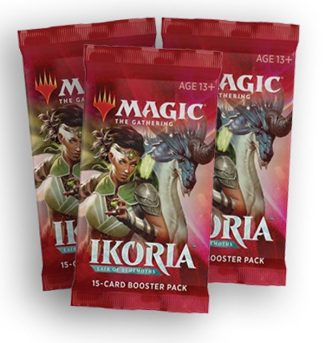 Ikoria Booster Packs X3