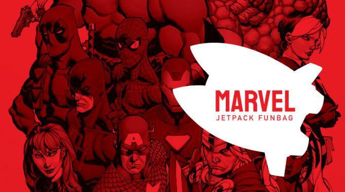 MARVEL HEAVY JETPACK FUNBAGS