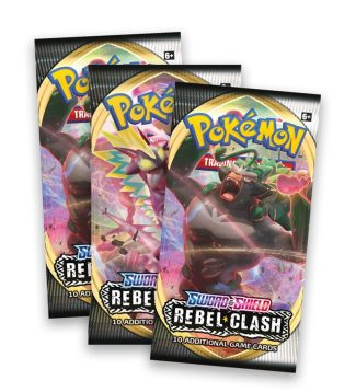 POKEMON REBEL CLASH BOOSTER X3 – Limited Time Offer