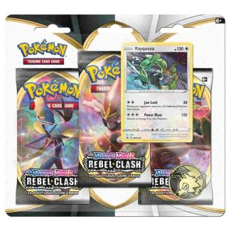 Rebel Clash 3 Pack W/ Promo Card & Coin