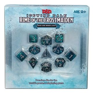 D&D Icewind Dale: Rime Of The Frostmaiden: Dice & Miscellany