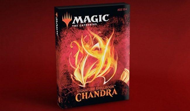 MAGIC SIGNATURE SPELLBOOK CHANDRA
