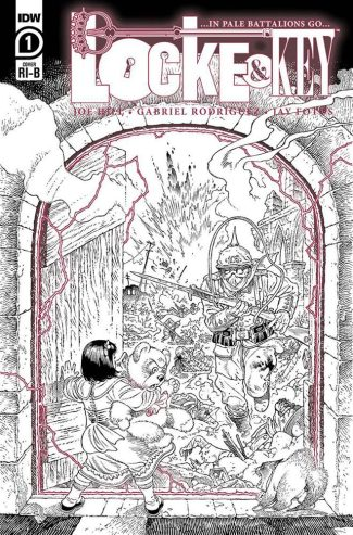 LOCKE & KEY IN PALE BATTALIONS GO #1 (1/25 RODRIGUEZ INCENTIVE COVER)