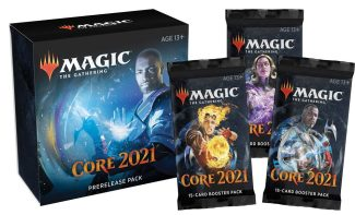 CORE SET 2021 PRE-RELEASE KIT W/ 3 Boosters (Available 7/3)