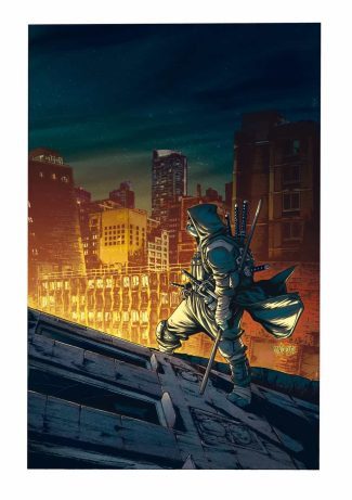TMNT THE LAST RONIN #1 1/25 (SANTOLOUCO INCENTIVE COVER)