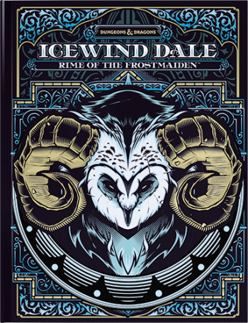 Icewind Dale: Rime Of The Frostmaiden (Alternative Cover)