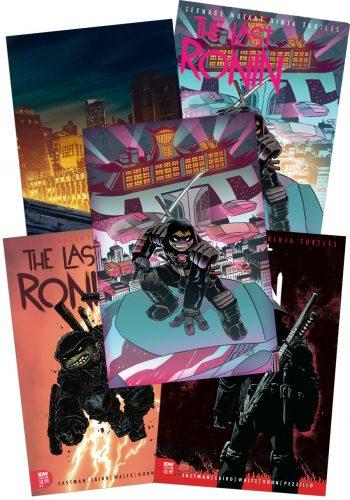 TMNT THE LAST RONIN #1 (THE COWABUNDLE)