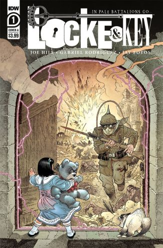 LOCKE & KEY IN PALE BATTALIONS GO #1 (A RODRIGUEZ COVER)