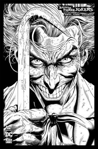 BATMAN THREE JOKERS #1 (1/100 Incentive Cover)