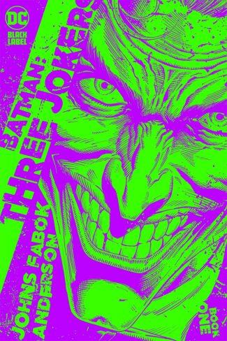 BATMAN THREE JOKERS #1 (1/25 Incentive Cover)