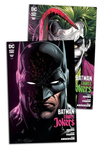 2x BATMAN THREE JOKERS #1 (Jason Fabok A & B Covers)