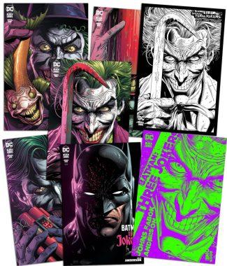 BATMAN THREE JOKERS #1 7-pack
