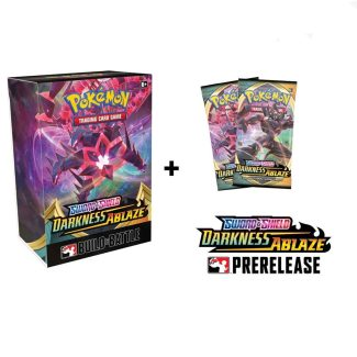 Darkness Ablaze Pre-release Pack & 2 Boosters  (In-Store Only)