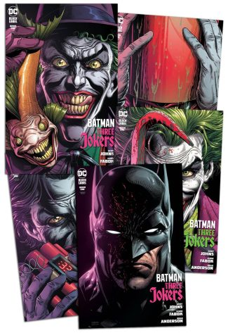 5x BATMAN THREE JOKERS #1