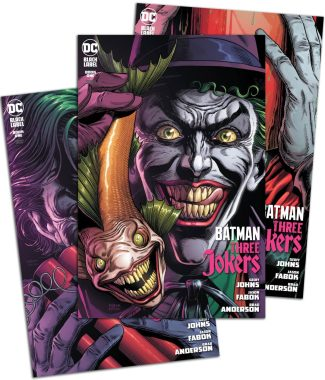 3x BATMAN THREE JOKERS #1 Premium Variant Covers