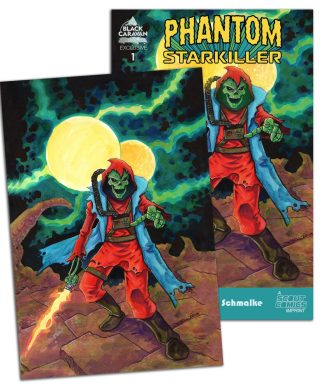 PHANTOM STARKILLER #1 (JETPACK COMICS EXCLUSIVE SET)