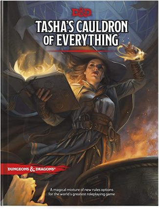 D&D 5th Edition: Tasha's Cauldron Of Everything (STANDARD COVER)
