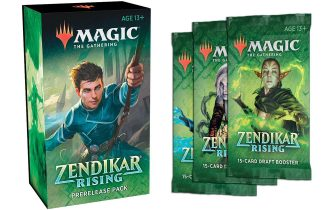 ZENDIKAR RISING PRE-RELEASE KIT W/ 3 Draft Boosters