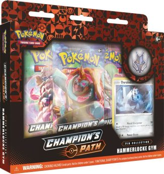 POKEMON CHAMPIONS PATH PIN COLLECTION SET 2: HAMMERLOCKE GYM