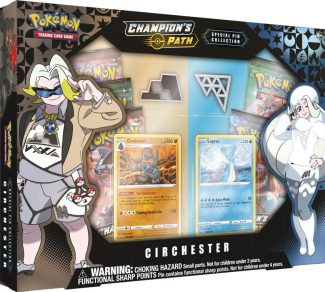 POKEMON CHAMPIONS PATH SPECIAL PIN COLLECTION: CIRCHESTER
