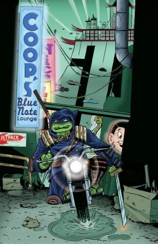 TMNT THE LAST RONIN #1 (STEVE LAVIGNE  EXCLUSIVE)