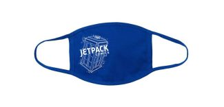 The Jetpack Blue Mask