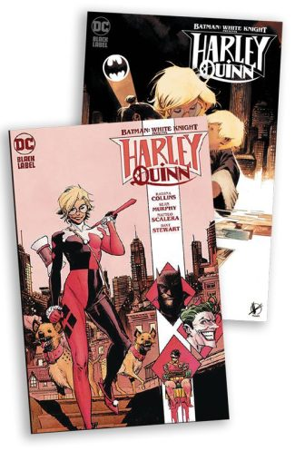 Batman: White Knight Presents Harley Quinn #1 Murphy & Scalera (Cover Set – Local Pickup Only)