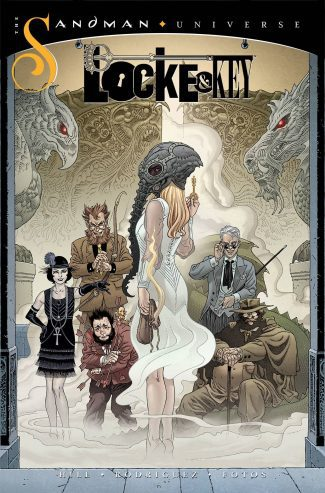 LOCKE & KEY SANDMAN HELL & GONE #1 (A COVER)