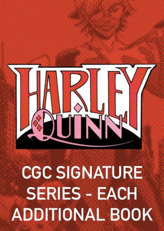 Batman: White Knight Presents Harley Quinn Signing (CGC Signature Series- Each Additional Book – Local Pickup Only)
