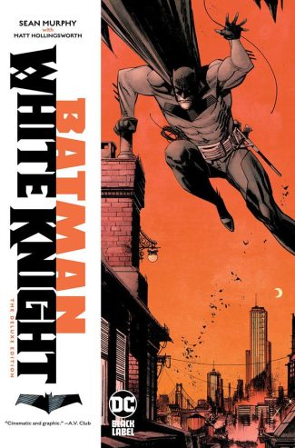 Batman White Knight Deluxe Hardcover – Local Pickup Only
