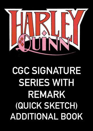 Batman: White Knight Presents Harley Quinn Signing (CGC Signature Series With Remark (Quick Sketch) – Each Additional Book – Local Pickup Only)