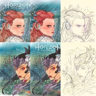 Horizon Zero Dawn #1 (Peach Momoko Convention Exclusive Set)