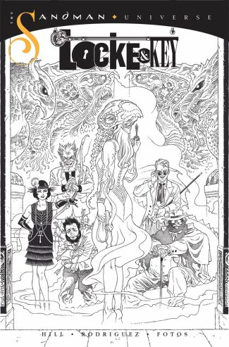 LOCKE & KEY SANDMAN HELL & GONE #1 (1/10 RIA COVER)