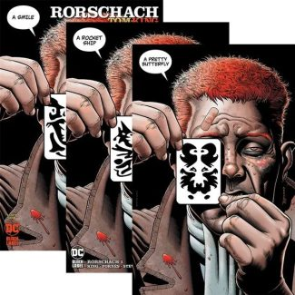 Rorschach #1 (Exclusive 3-pack Variant Set)