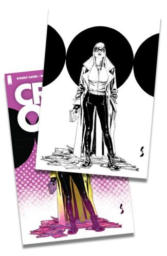 2x CROSSOVER #1 (Geoff Shaw B/W Virgin & Trade Dress Shared Exclusive)